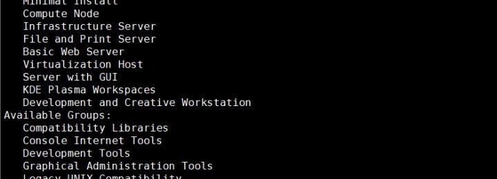 CentOS 7 安装GNOME Desktop